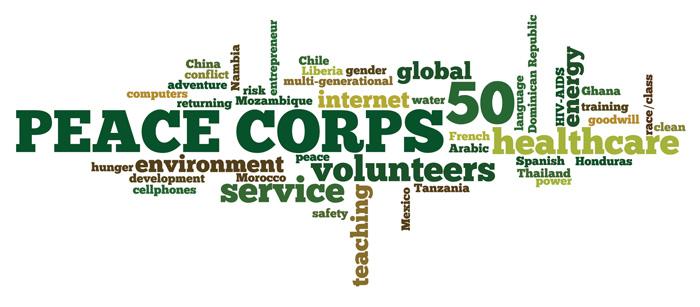 Peace Corps Word Cloud