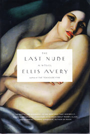 The book cover for The Last Nude features Tamara de Lempicka's painting The Dream, thought to portray the same model who is the subject of Lempicka's La Belle Rafaela and narrator of Avery's novel.