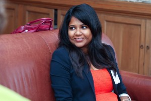 Samrina Sattar '08, career development representative for Philadelphia-area alumnae.