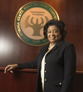 Photo of Soraya M. Coley courtesy Cal Poly Pomona.