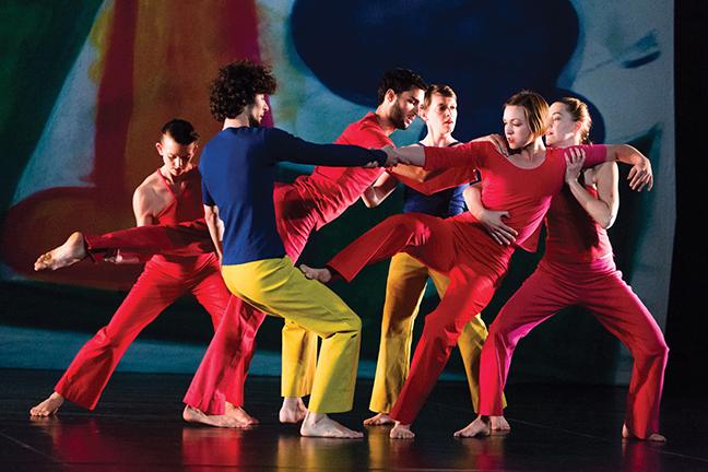 23th April 2015; Berlin; Akademie der Künste Hanseatenweg; Trisha Brown Dance Company - Present Tense (2014, Rekonstruktion von 2003)